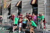 The best support crew at Mile 25-Boston 2012